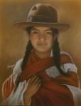 Obras de arte:  : Perú : Lima :  : MUJER HUAMANGUINA