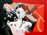 Obras de arte: Europa : España : Catalunya_Barcelona : Sitges : Eggs in Fall