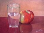 Obras de arte: America : Brasil : Sao_Paulo : Sao_Paulo_ciudad : Copo e maçã