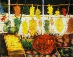 Obras de arte: America : Brasil : Sao_Paulo : Sao_Paulo_ciudad : Marajoara e frutas tropicias