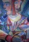 Obras de arte:  : España : Galicia_La_Coruña : Santiago_de_Compostela : Miradas