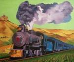 Obras de arte: Europa : España : Castilla_y_León_Burgos : burgos : El tren