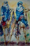Obras de arte: Europa : España : Andalucía_Málaga : Torre_del_Mar : Touaregs en el desierto