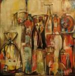Obras de arte: America : Argentina : Buenos_Aires : Tigre : No todo cabe en una botella