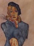 Obras de arte: Europa : España : Andalucía_Sevilla : Sevilla-ciudad : Marlene Dietrich en mujer fatal
