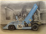 Obras de arte:  : España : Catalunya_Barcelona : Sabadell : Porsche 917