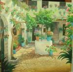 Obras de arte: Europa : España : Andalucía_Granada : almunecar : el patio