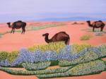 Obras de arte:  : España : Andalucía_Sevilla : Sevilla-ciudad : El Sahara después de las lluvias