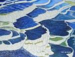 Obras de arte:  : España : Andalucía_Sevilla : Sevilla-ciudad : Terrazas de agua caliza