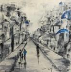 Obras de arte: America : Argentina : Buenos_Aires : Tigre : Azul y blanco en Santorini