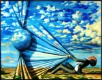 Obras de arte: Europa : Espa�a : Andaluc�a_Sevilla : Sevilla-ciudad : Quasar vs hombre