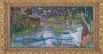 Obras de arte:  : Estados_Unidos : Florida : orlando : Inolvidable mujer Azul