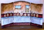 Obras de arte: America : México : Hidalgo : pachuca : humanizacion de la cena