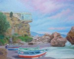 Obras de arte: Europa : España : Andalucía_Granada : almunecar : barcas +
