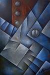 "Obras de arte:  : Argentina : Cordoba : COSQUíN : ""Planos Azules"""
