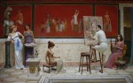 Obras de arte: Asia : Georgia : Shida_Kartli : Tbilisi : En la casa del pintor