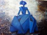 Obras de arte: Europa : España : Extrmadura_Cáceres : Logrosan : MENINA AZUL