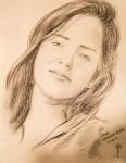 Obras de arte: America : Colombia : Santander_colombia : Bucaramanga : Retrato de mujer bella