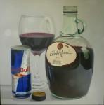 Obras de arte:  : Rep_Dominicana : Azua :  : si no quieres vino tomate un red bull