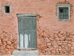 Obras de arte:  : España : Catalunya_Barcelona : Barcelona : Old door