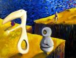 Obras de arte:  : España : Madrid : Torrelodones : PERPLEJIDAD