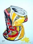 Obras de arte: Europa : España : Madrid : Madrid_ciudad : siempre Coca Cola II