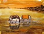 Obras de arte:  : Argentina : Santa_Fe : Rosario_ciudad : caballos de sol