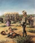 Obras de arte:  : España : Castilla_y_León_Valladolid : Valladolid_ciudad. : Don Quijote