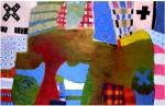Obras de arte: America : Perú : Lima : chosica : apacheta