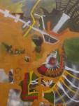 Obras de arte: America : Perú : Lima : chosica : akapana