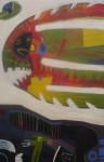 Obras de arte: America : Perú : Lima : chosica : piraña