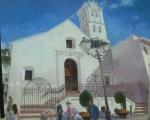 Obras de arte: Europa : España : Andalucía_Granada : almunecar : frijiliana paseo iglesia