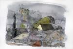 Obras de arte: America : Chile : Region_Metropolitana-Santiago : providencia : paisaje de Bellavista Chile