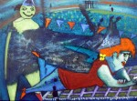 Obras de arte:  : Honduras : Francisco Morazan : Tegucigalpa : picnic en recreovias