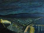 Obras de arte: Europa : España : Andalucía_Almería : Almeria : Almería Blue Night