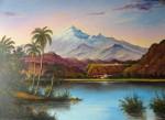 Obras de arte: America : Colombia : Distrito_Capital_de-Bogota : Bogota_ciudad : Lago