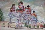 Obras de arte:  : España : Madrid :  : Danzas de San Acacio