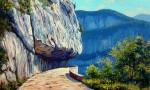 Obras de arte: Europa : España : Catalunya_Girona : olot : Gorges de la Bourne