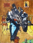 Obras de arte:  : Honduras : Francisco Morazan : Tegucigalpa : ambiente decafé