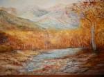 Obras de arte: America : Argentina : Buenos_Aires : san_antonio_de_areco : El otoño en las montañas-