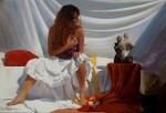 Obras de arte:  : España : Cantabria :  : La mujer del pelo rojo