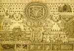 Obras de arte: America : Ecuador : Pichincha : Quito : Genesis de la cultura precolombina.