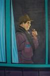 Obras de arte: Europa : España : Castilla_y_León_Burgos : burgos : Hombre fumando en pipa