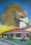 Obras de arte: America : Colombia : Boyaca : duitama : De escudo les sirvio.