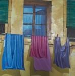 Obras de arte: Europa : España : Castilla_y_León_Burgos : burgos : Ropa tendida