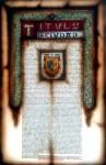 Obras de arte: America : México : Tlaxcala : Tlax : Cedula real de Tehuacan
