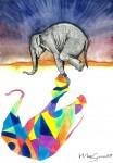 Obras de arte: America : México : Veracruz-Llave : Xalapa : La Sombra del Elefante