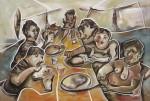 Obras de arte: Europa : España : Catalunya_Barcelona : Viladecans : Comiendo deseperadamente