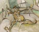 Obras de arte: Europa : España : Catalunya_Barcelona : Viladecans : Abierta de piernas, descanso en mi habitación