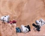 Obras de arte: Europa : Italia : Sardegna : sassari : Perros Hundidos